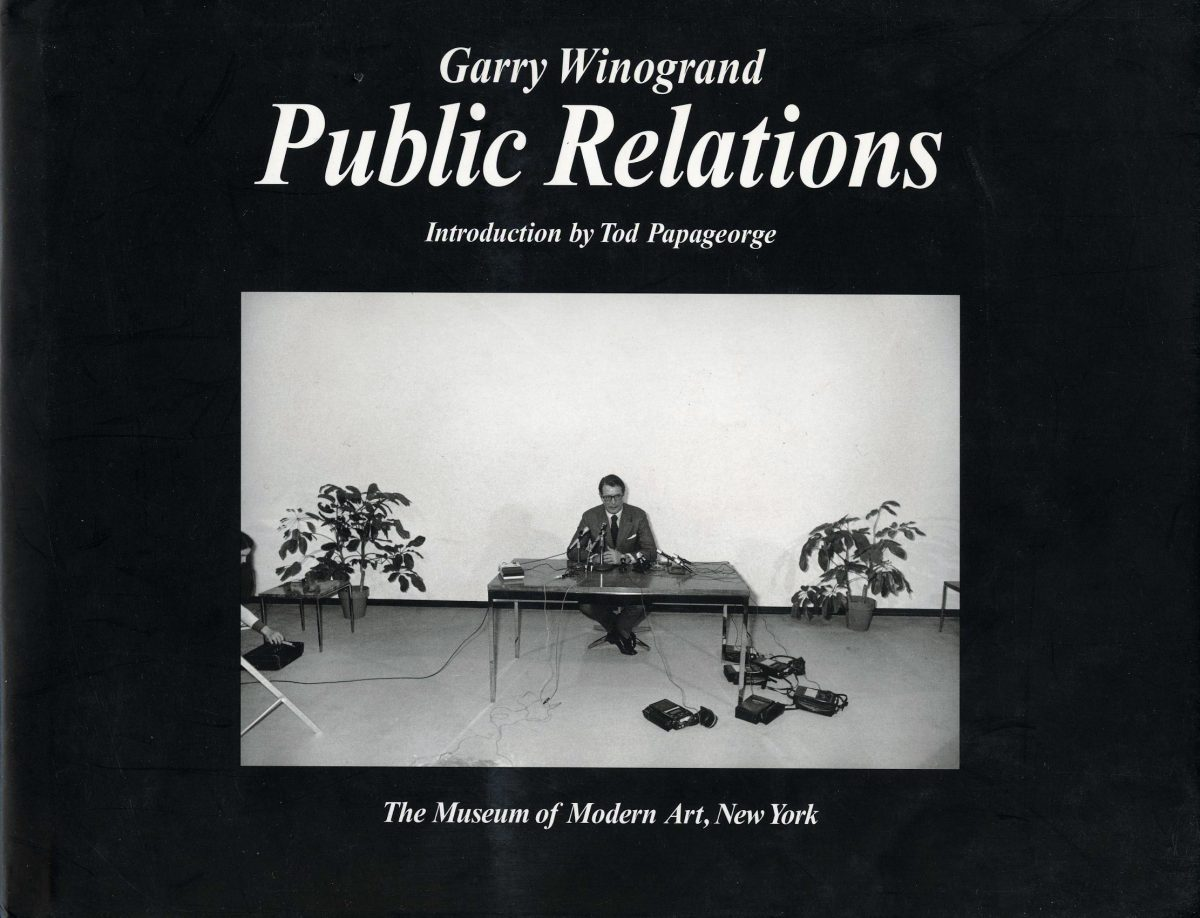 Public Relations by Garry Winogrand